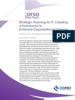corso - strategic planning for it white paper