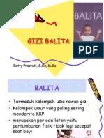 Gizi Balita