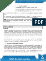Taller Unidad 3 Requisitos e Interpretación de La Norma ISO 9001_2008 (1)