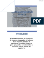Sistema Digestivo UA II Semestre Parte I