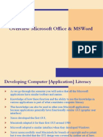 Ms Office & Word