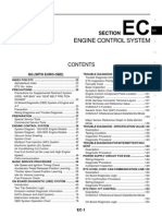 Engine Control System: Section