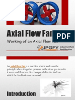 Working of Axial Flow Fans