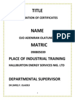 Automation of certificates