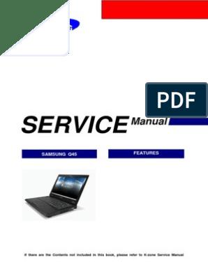 Samsung Q45 TORINO II Notebook Computer Sm | Dvd | Booting