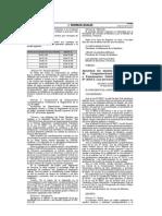 D.S. Nº 023-2014-EF, Compens. Económica Ley 30057