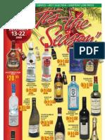 Olympia Liquor Store Christmas Sale