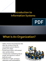 Types of Information Systems in an Organisation