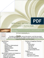 Critical Writing Workshop