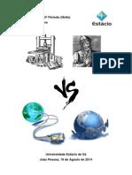 Comparativo do impacto revolucionário da prensa de Johannes Gutenberg e a Internet