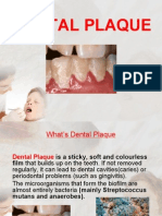 Dental Plaque Presentation