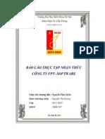 Báo Cáo Thực Tập Nhận Thức Công Ty Fpt - Software - Luận Văn, Đồ Án, Đề Tài Tốt Nghiệp
