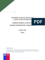 Informe Plan de Negocios Chile Emprende 24102013