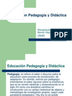 Elementos de Una Teoría de La Educación