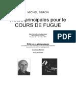 Baron Cours Fugue 2011