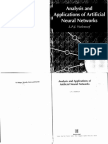 Analysis and Applications of Artificial Neural Networks