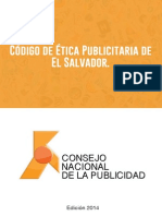 Codigo de Etica Publicitaria de El Salvador