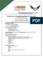 JET AIRWAYS PILOT (TFO) WRITTEN EXAM PREPARATORY CLASSES