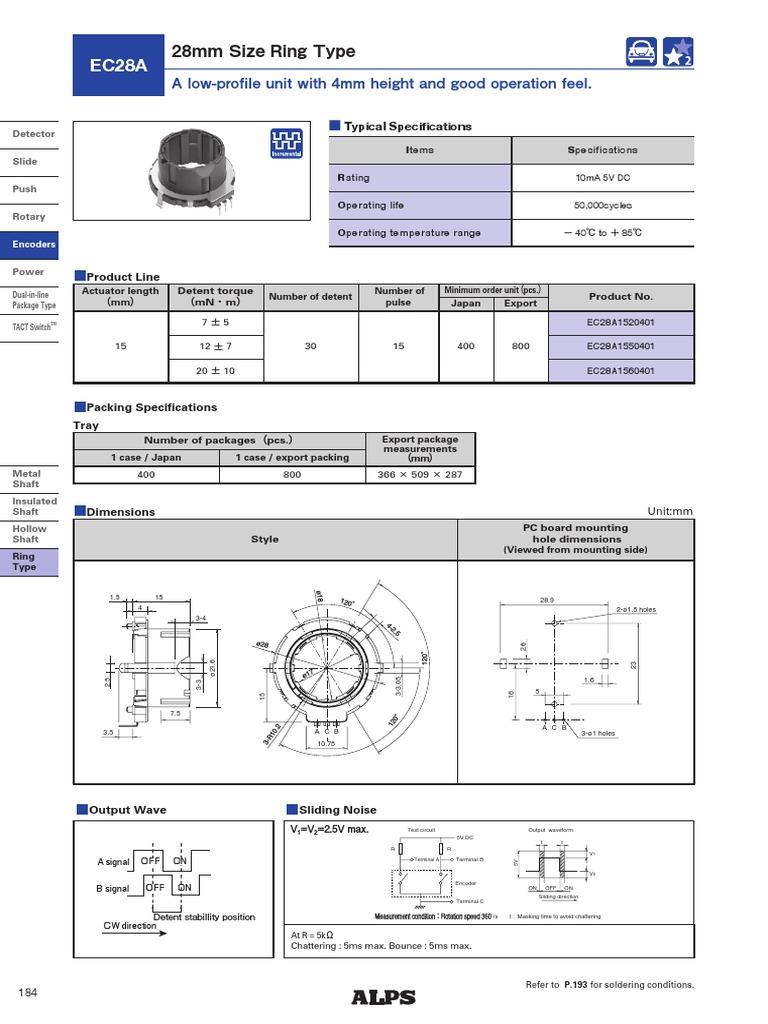 EC28A   Switch   Soldering on