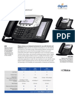 Digium IP Phones for Asterisk Datasheet