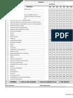 FQ-53 Lista de Verificação Semanal de Maquinas e Caminhões Rev. 02