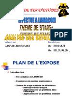 Stage de Fin d'Etude Rapport Fe Stage-lamacom