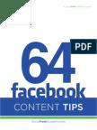 64 Facebook Tactics