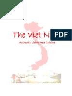 Vietnam Menu