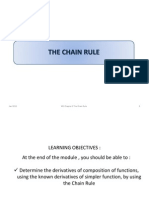 Ch 2D the Chain Rule
