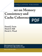 A Primer on Memory Consistency and Coherence