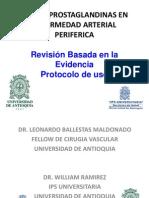 Uso de Prostaglandinas en EAOC