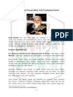 21KH Muhammad Dimyati (Mbah Dim) Pandeglang Banten