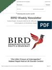 BIRD Newsletter Issue #5