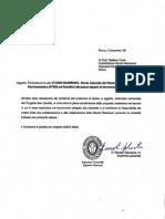 Camilliani - Accettazione Studio Rainbow1 - p. Renato Salvatore - Superiore Generale