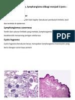 HPA Lymphangioma