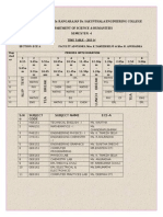 Vh Time Table 2013-14