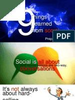 Social Learnings