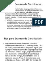 Tips para Examen de Certificación.pdf