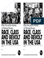 Michael Brown Race and Class in the Usa - mtg template