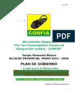 Plan de Gobierno Sergio Viamonte