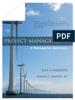 PM, Managerial Approach