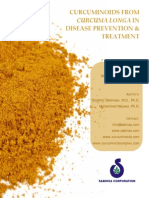 Curcuminoids From Curcuma Longa in Disease Prevention and Treatment