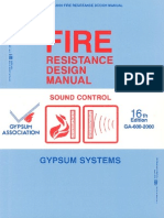 2000 Fire Resistance Design Manual