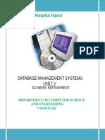 Dbms Unit-5 Notes