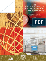 III Encuentro Catalogacion