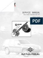 Service Manual Axle Jeep Grand Cherokee WJ 44