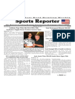 August 20 - 26, 2014 Sports Reporter