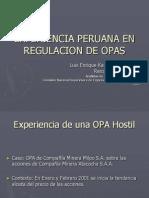 Presentación Experiencia Peruana OPA