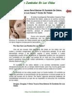 032 Remedios Caseros Para Eliminar El Zumbido de Oidos