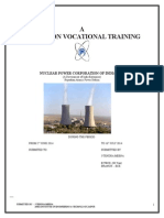 A REPORT ON VOCATIONAL TRAINING